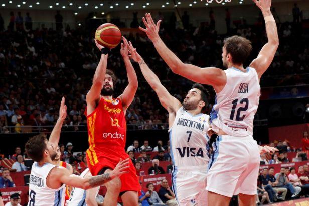 Španěle nezastavila ani Argentina. Parta okolo rozehrávače Rubia si nenápadně došla pro zlato