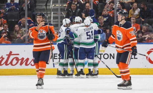 Jašek se trefil a Vancouver v přípravě přejel Edmonton. Škarek míří na farmu