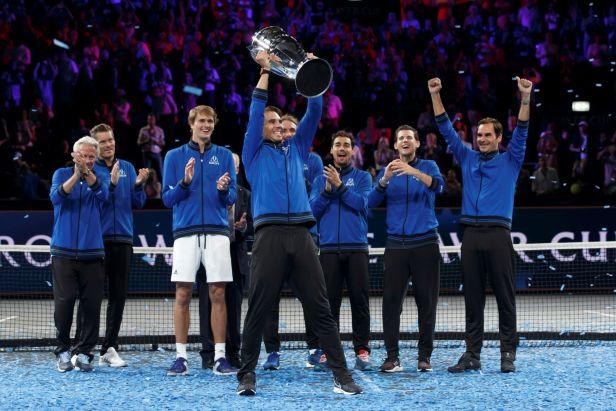 Evropané dokonali obrat a potřetí za sebou triumfovali v Laver Cupu. Hrdinou je opět Zverev