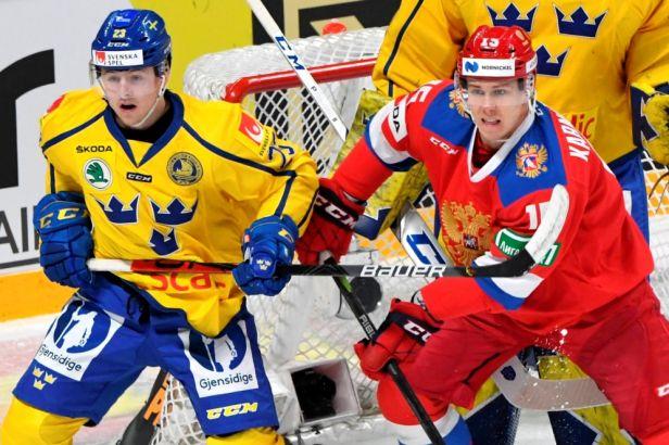 Švédové dotáhli náskok Rusů, v nájezdech ale slavila sborná