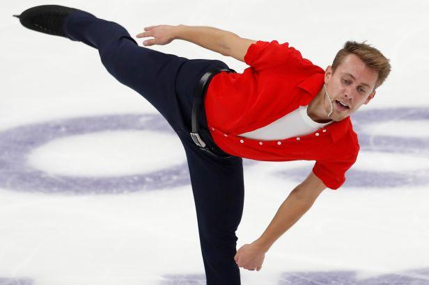 Březina je v Moskvě po krátkém programu osmý, finále Grand Prix se mu vzdálilo