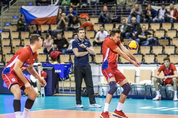 Čeští volejbalisté podlehli na závěr olympijské kvalifikace Slovincům