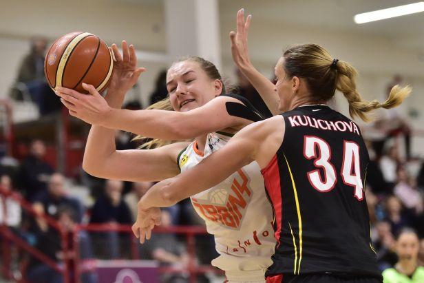 Finále poháru rozhodly basketbalistky Žabin až ve druhém prodloužení