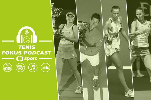 Tenis fokus podcast: Djokovič, Keninová a české vítězství i ostuda. Co ukázalo Australian Open?