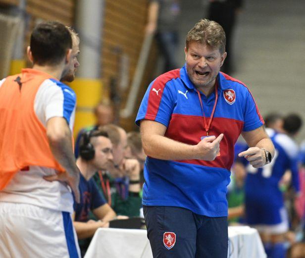 Neumann: Postup je neskutečný úspěch pro český futsal. Před rozstřelem jsem věděl, že to dokážeme
