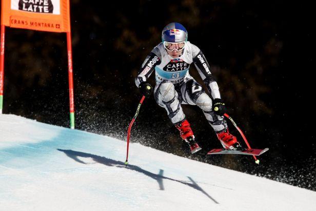 Ledecká v Crans Montaně vybojovala páté místo, Suterová slaví zisk malého glóbu
