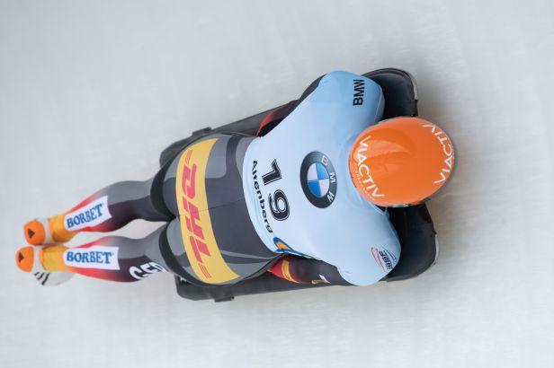 V Altenbergu kralovali domácí skeletonisté, Grotheer zajel traťový rekord