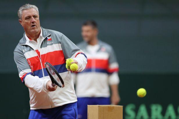 Tenisté odehrají základní skupinu Davisova poháru v Innsbrucku