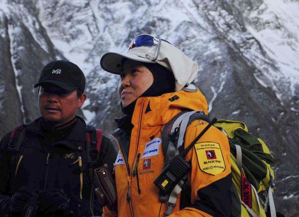 O Un-son – první žena na vrcholu všech osmitisícovek