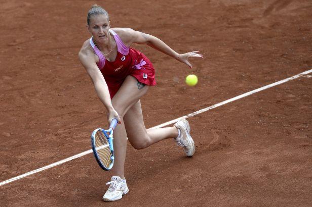 Plíšková se na Prague Open porve o postup do čtvrtfinále, Siniakovou čeká dohrávka
