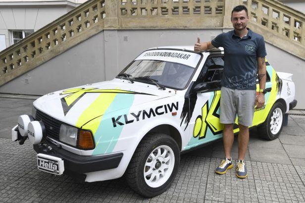 Klymčiw chystá škodovku na Dakar: Mám rád stará auta a tohle je návrat ke kořenům