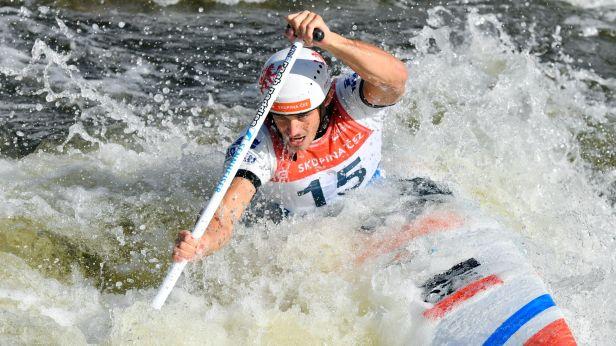 Heger je mistrem Evropy do 23 let ve vodním slalomu