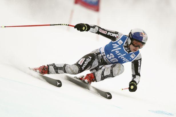 Ledecká poprvé bodovala v obřím slalomu SP, v Söldenu dojela dvacátá