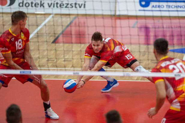 Volejbalovým play-off postupují Budějovice a pražští Lvi, série vyhráli v nejmenším počtu duelů