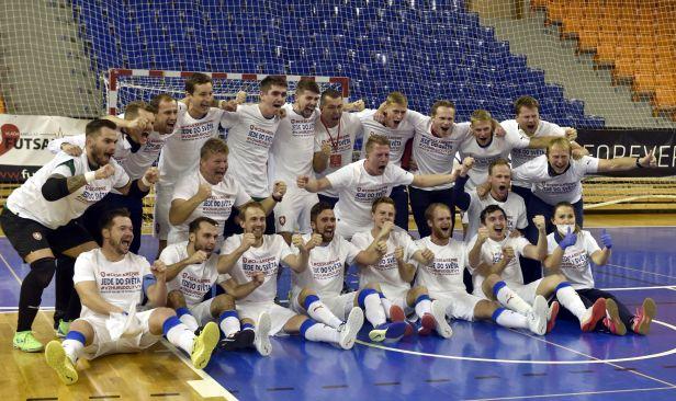 Futsalový thriller ukončila až osmá série penalt, Česko postoupilo přes Chorvaty na mistrovství světa