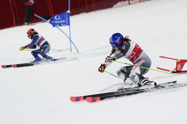 Vlhová připisuje další vítězství. Češky v paralelním obřím slalomu neprošly kvalifikací