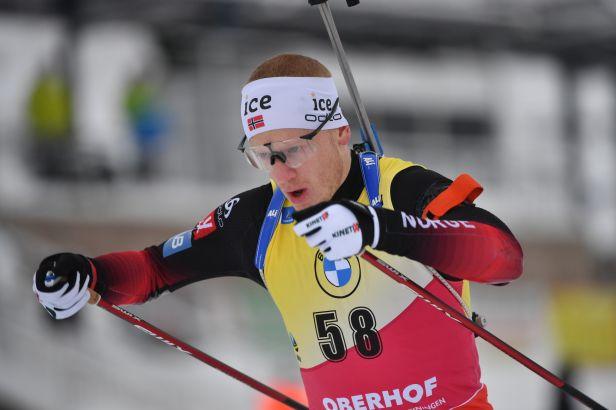 Johannes Bö vyhrál v Oberhofu i druhý sprint, Moravec až v šesté desítce
