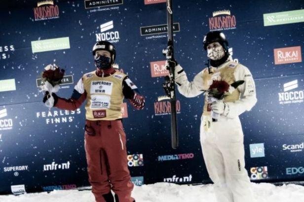 Burov dominoval akrobatickým lyžařům i doma v Moskvě