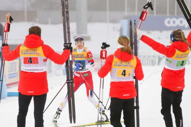 Norky ukořistily v Lahti vítězství i ve štafetě