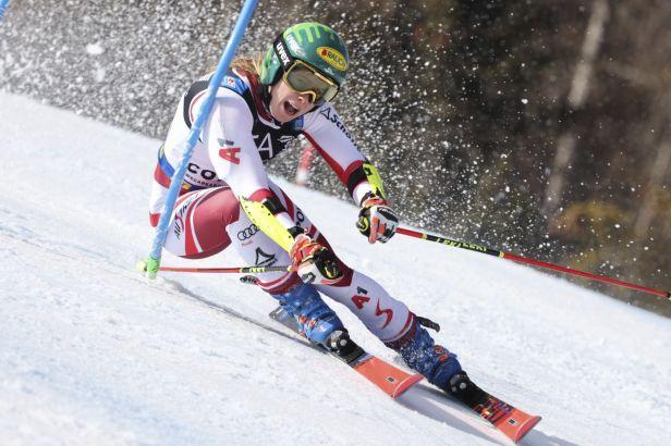 Fenomenální Liensbergerová ukončila ve slalomu zlatou sérii Shiffrinové, stříbro bere Vlhová