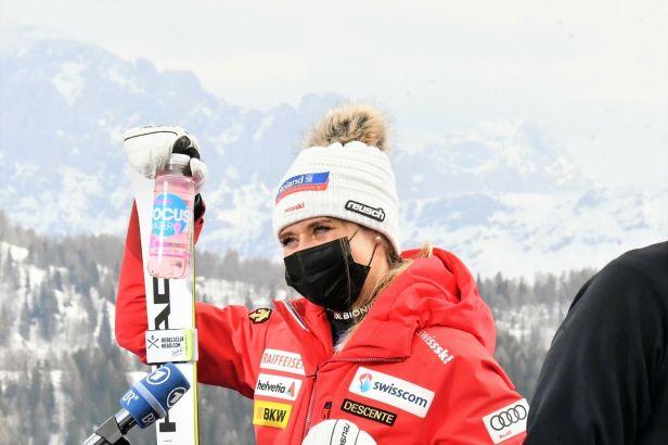 Gutová-Behramiová si zajistila malý glóbus za super-G, ve Val di Fassa vyhrála domácí Brignoneová