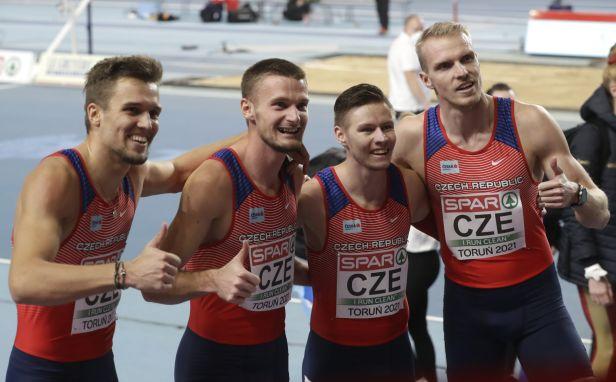 Čeští atleti se vrací do elitní skupiny. Mužská štafeta vybojovala na ME družstev start v Tokiu