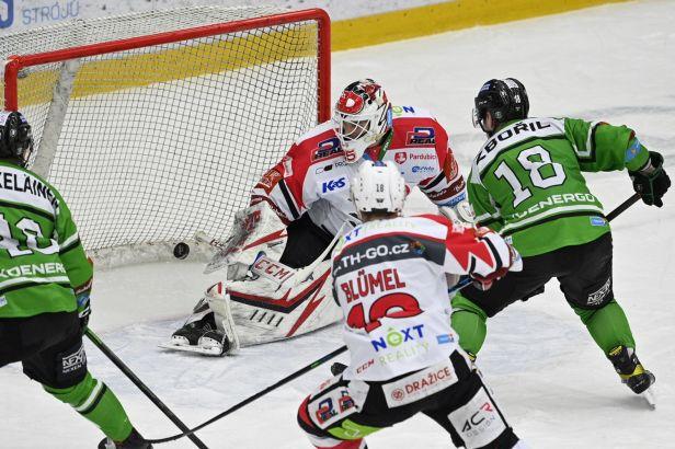 Mladá Boleslav vynulovala Pardubice a má první čtvrtfinálový bod