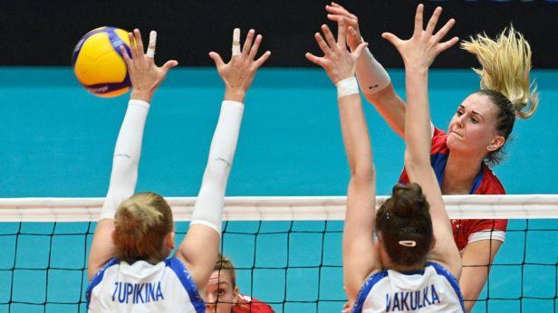 Volejbalistky budou hrát o finále Evropské ligy s Bulharkami