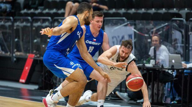 Basketbalisté v přípravě výrazně nestačili na Němce. Soupeř měl den a vyhrál o 33 bodů