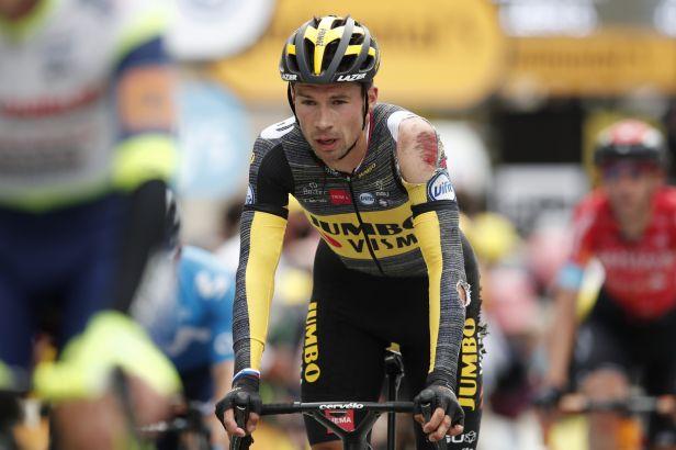 Potlučený Roglič ukončil trápení a odstoupil z Tour, nepokračuje ani Van der Poel