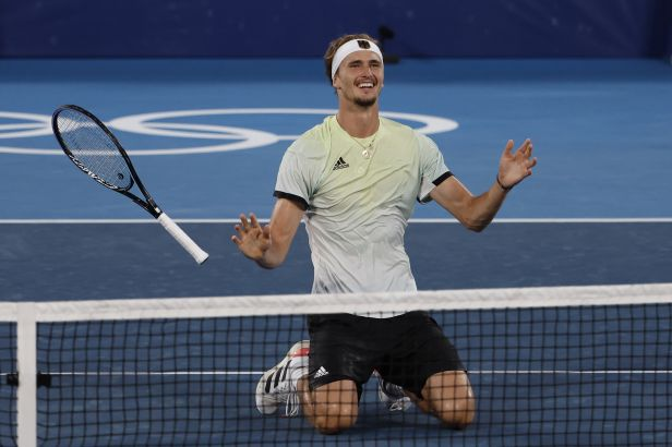 Zverev ve finále přejel Chačanova a stal se olympijským vítězem