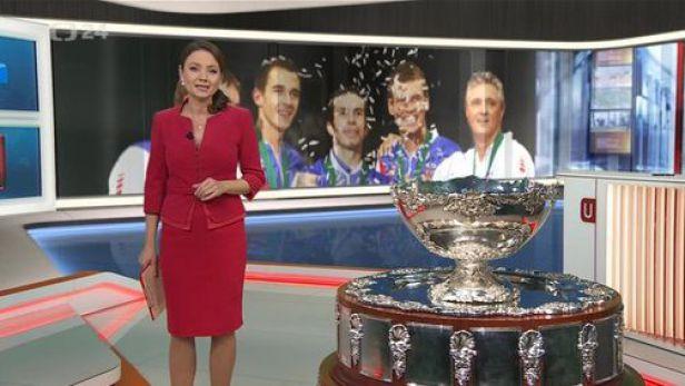 Česko slaví Davis Cup