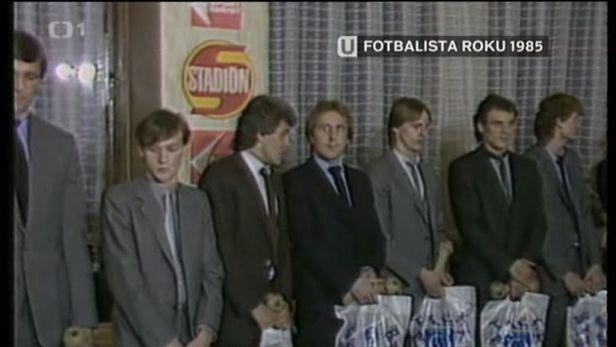 Historie ankety Fotbalista roku