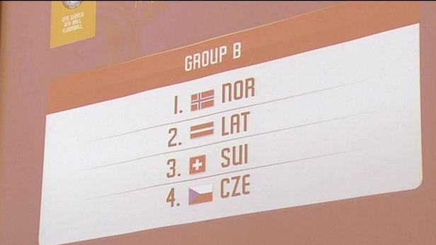 Florbalistky budou hrát na MS se Švýcarskem, Lotyšskem a Norskem