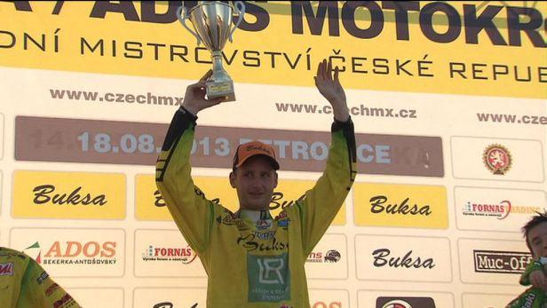 Motokrosař Michek triumfoval v předposledním mítinku MČR v Petrovicích