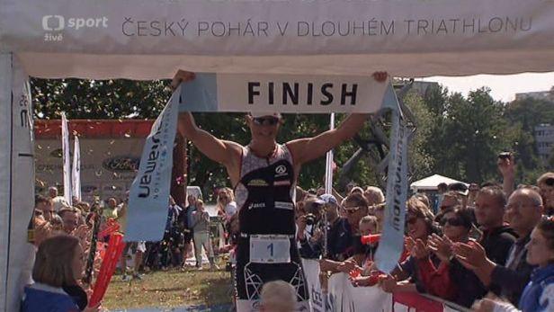 Otrokovického ironmana vyhrál Vabroušek, na Lipně se v triatlonu radoval Kubíček