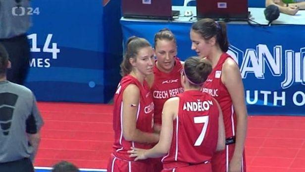 Mladé české basketbalistky vyhrávají, těžší soupeřky je ještě čekají