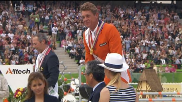 Parkur na Světových jezdeckých hrách vyhrál Nizozemec Dubbeldam