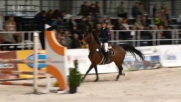 Jezdecký festival otevřela vítězstvím v Pony extralize Bubeníková