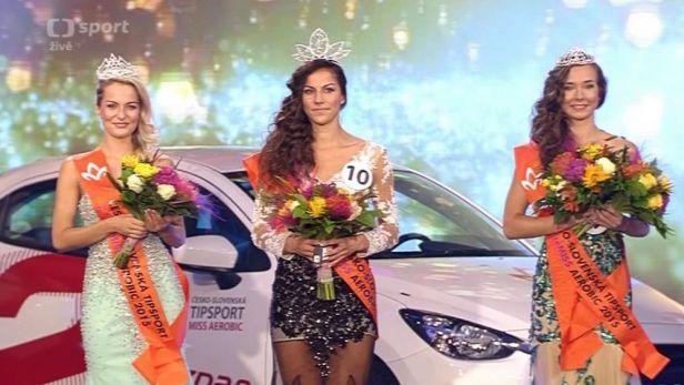Záznam finálového večera Česko-Slovenské Tipsport Miss Aerobic