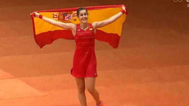 Španělka Marinová utla asijskou nadvládu v badmintonu