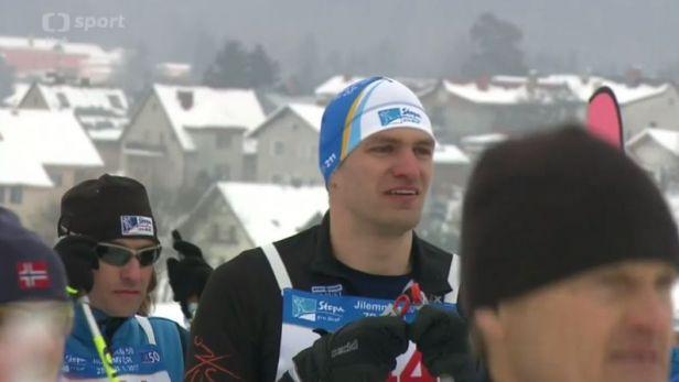 Jilemnickou padesátku si vyzkoušel i skifař Ondřej Synek