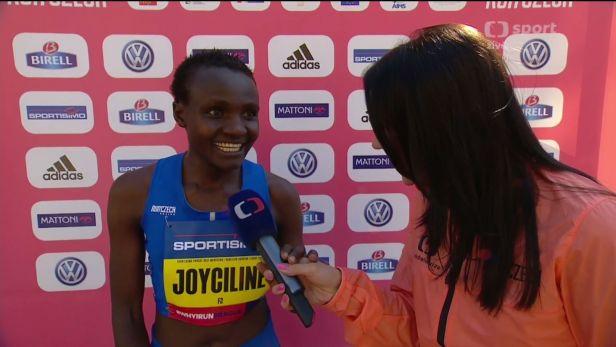 Jepkosgeiová: Nemohla jsem uvěřit, že jsem překonala světový rekord
