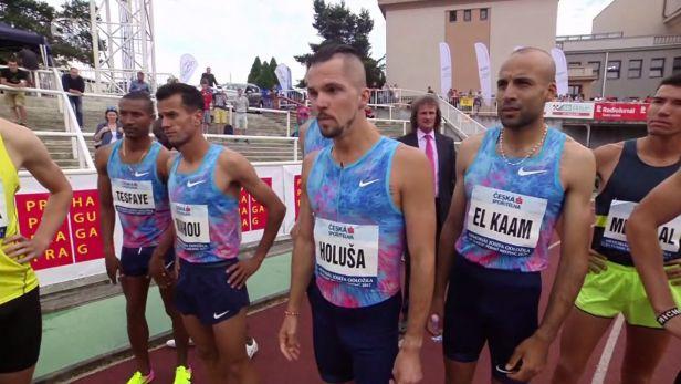 Úspěšný běh na 1500 m a ohlasy Jakuba Holuši