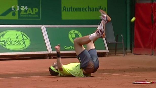 Veselý si připsal třetí prostějovský titul, ve finále zdolal Delbonise