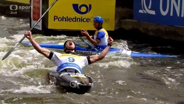 Medailové jízdy českých vodních slalomářů v Troji s ohlasy