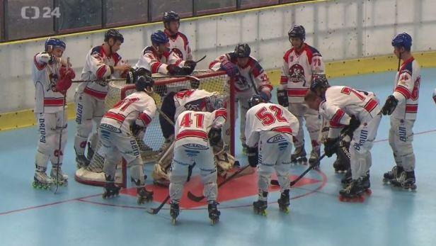 Extraligový titul v in-line hokeji slaví berounští Medvědi