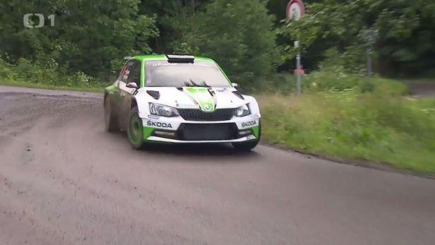 Kopecký si vítězstvím v Rally Bohemia zajistil titul mistra ČR