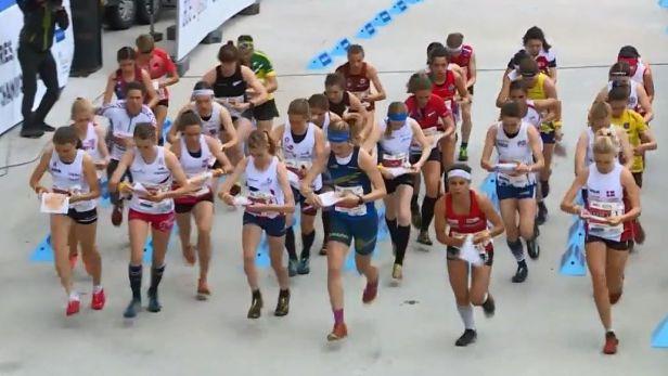 Na MS v orientačním běhu utekla české smíšené štafetě medaile