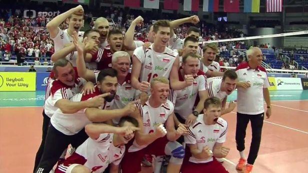 Volejbalisté Polska jsou mistry světa do 21 let